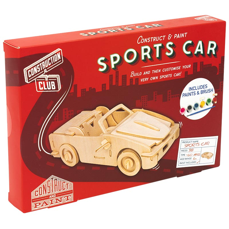 Sports car construction kit
