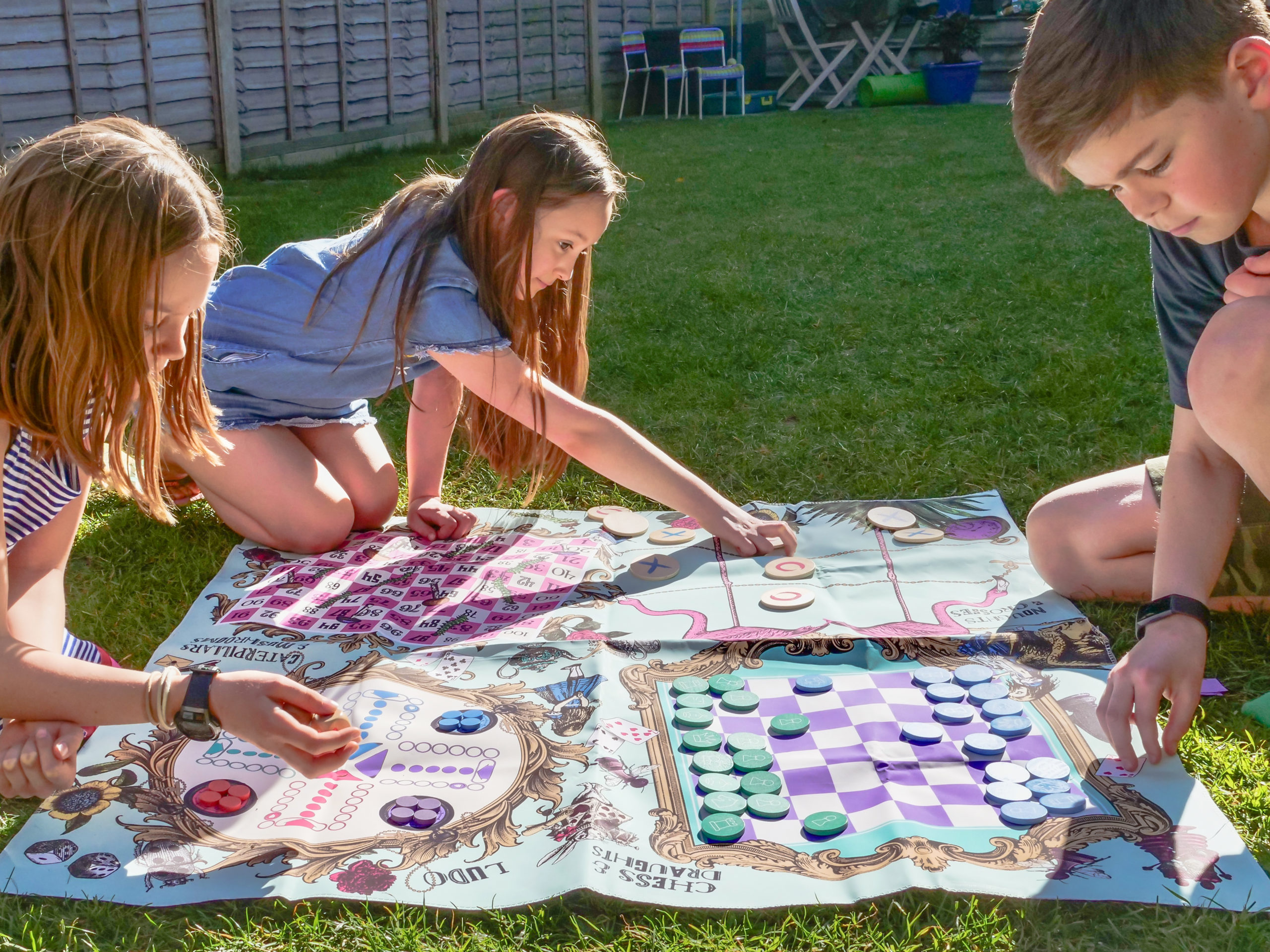 Garden games at the ready!