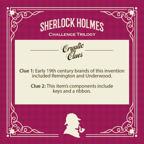 Can you crack the cryptic clues?